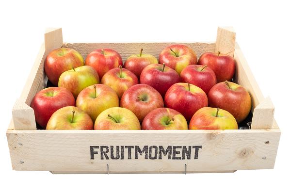 Fruitmoment krat met 18 appels