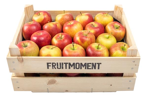 Fruitmoment krat met 36 appels