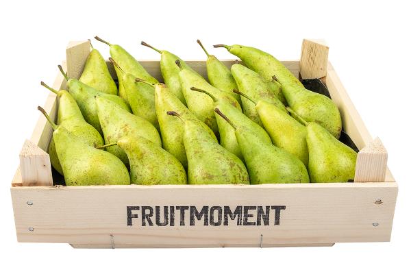 Fruitmoment krat met 20 peren